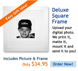Your Photo + Our Frame = a Great Gift