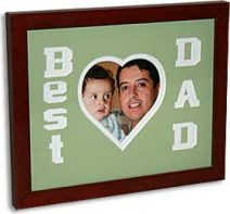 Keepsake Frame Best Dad