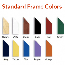 Standard Frame Colors