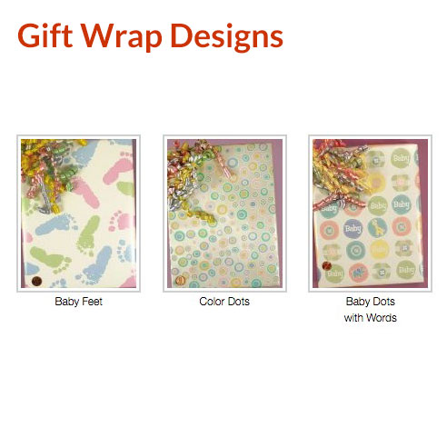 Gift Wrap Designs