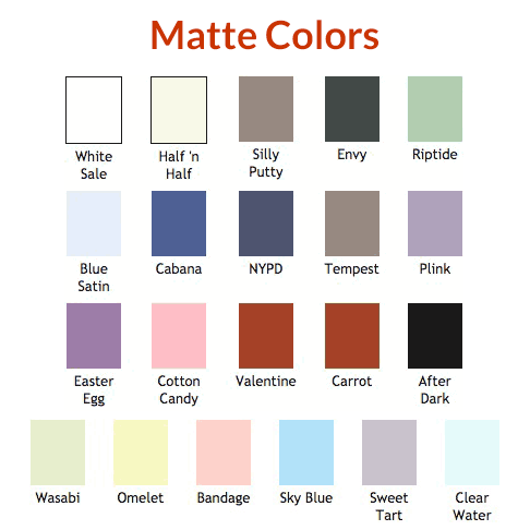Matte Colors